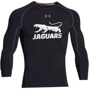 Jaguars Under Armour HeatGear pitkähihainen kompressiopaita